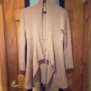 Autumn Cashmere Pink Cardigan Size Small